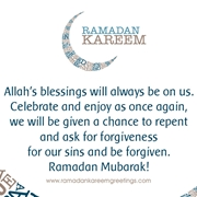 ramadan kareem messages